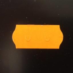 Etiket 2612 fluor oranje perm 2-sl 54000