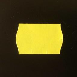 Etiket 2516 geel perm 2-slit golf 36.000