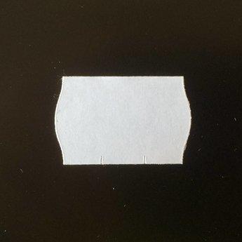 Etiket 26x16 wit perm 2-slit golf  39.600  geschikt voor Meto.