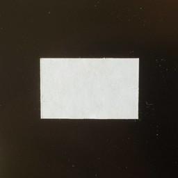 Etiket 2616 wit perm-2slit recht  36.000