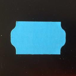 Etiket 3219 blauw perm golfrand   30.000