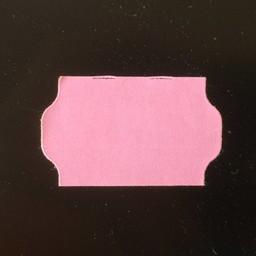 Etiket 3219 rose perm golfrand   30.000