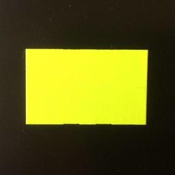 Etiket 3719 fluor geel afneeT-slit 25000