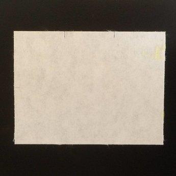 Etiket 3728 wit permanent  25 rollen