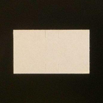 Etiket Sato PB-1 wit permanent , afmeting 18x10.3mm, doosinhoud 50 rollen
