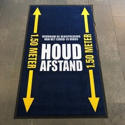 Covid-19 doormat (DUTCH TEXT)