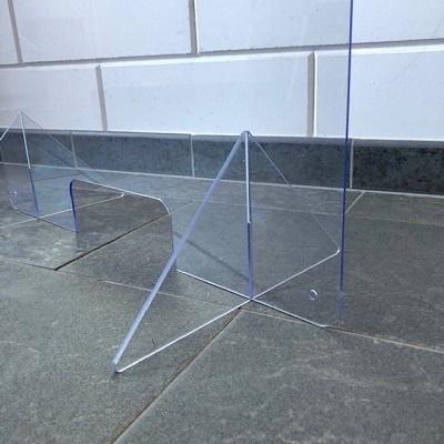 Hygiene screen wxh 80cmx60 cm