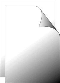 Foil screen 700x1000mm clear glossy