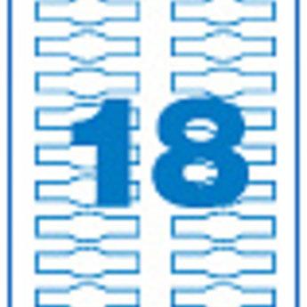 Apli Apli-nr. 11798  Laser/inkjet/kopieer-etiketten op A4 vellen, kleur cr