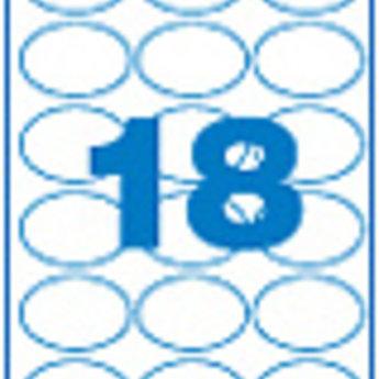 Apli Apli-nr. 11799  Laser/inkjet/kopieer-etiketten op A4 vellen, kleur cr