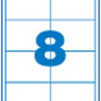 Apli Apli-nr. 11801  Laser/inkjet/kopieer-etiketten op A4 vellen, kleur cr