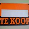 Affiche TE KOOP afmeting 36x25cm