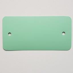 PVC-labels 54x108 mm pastel groen 2gaten
