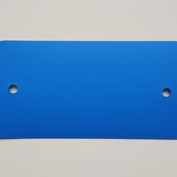 PVC-labels 54x108 mm d-blw 2gaten 1000st
