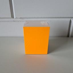 Prijskaart blanco fluor oranje 6x8cm 100