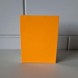 Prijskaart blanco fluor oranje12x16cm100