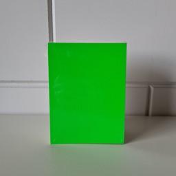 Prijskaart blanco fluor groen  8x12cm100