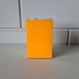 Prijskaart blanco fluor oranje 8x12cm100