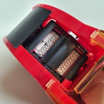 Apli Prijstang Apli 26x16mm - 2-Regelige prijstang met op beide regels een afdruk in 10 cijfers