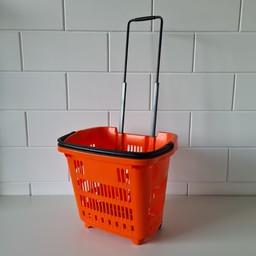 Winkelmand 34L Shop&Roll oranje
