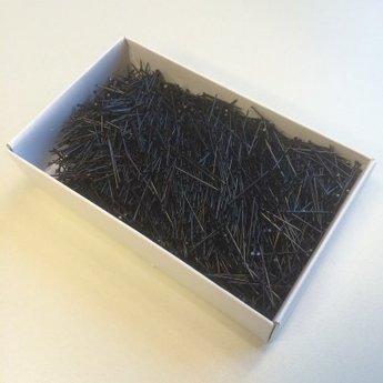 Amazona Etalagespelden zwart 50mm/115  500 gram  dikte 1.20mm<br /> Made in Germany
