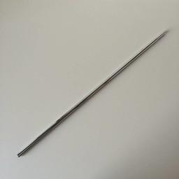 Buis chroom verstelbaar  600-900 mm