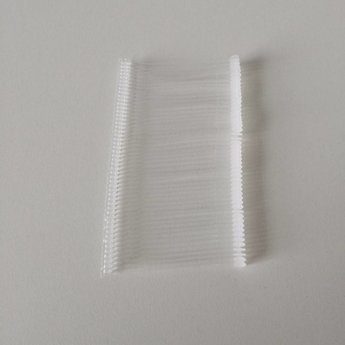 Dennison-pins 50 mm fijn PP riddersporen verpakt per 5.000st. art.nr. 03121