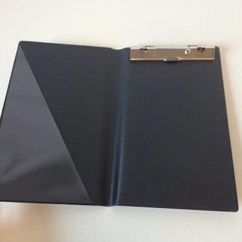 Bloc-houder zwart voor bonboekjes/kassabloks 10x15 cm.