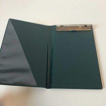 Bloc-houder donkergroen voor bonboekjes/kassabloks 10x15 cm.