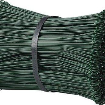 Drilbinders groen 120mm geplastificeerd kleur groen dikte 1,4mm bundel met 5000st