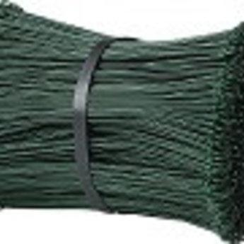 Drilbinders groen 180mm geplastificeerd kleur groen dikte 1,4mm bundel met 5000st