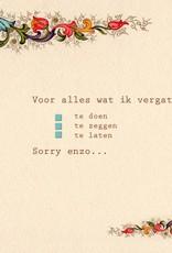 161 - sorry enzo