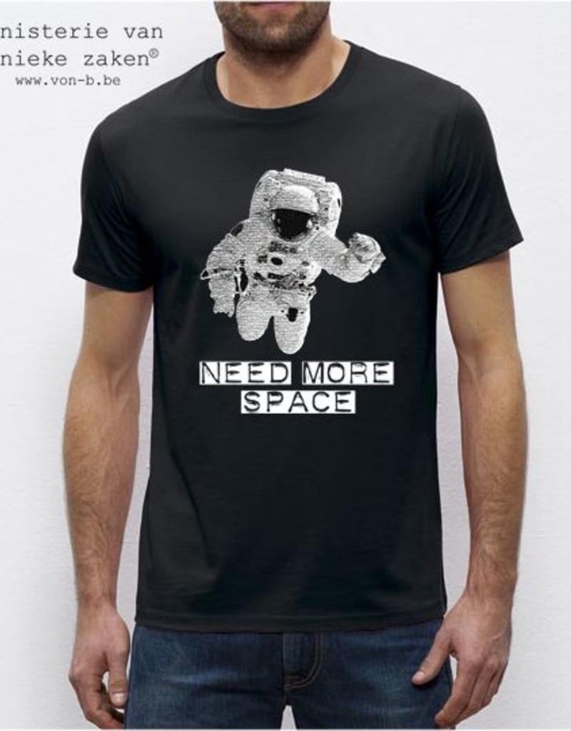 Departement Krijg de Kleren Need more space M - zwart