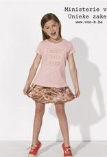Departement Krijg de Kleren Moet Just Niks T-shirt Kids Roze