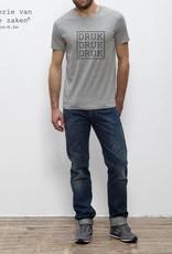 Departement Krijg de Kleren Druk Druk Druk T-shirt Man