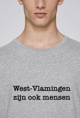Departement Krijg de Kleren Westvlamingen T-shirt Man Heather Grey