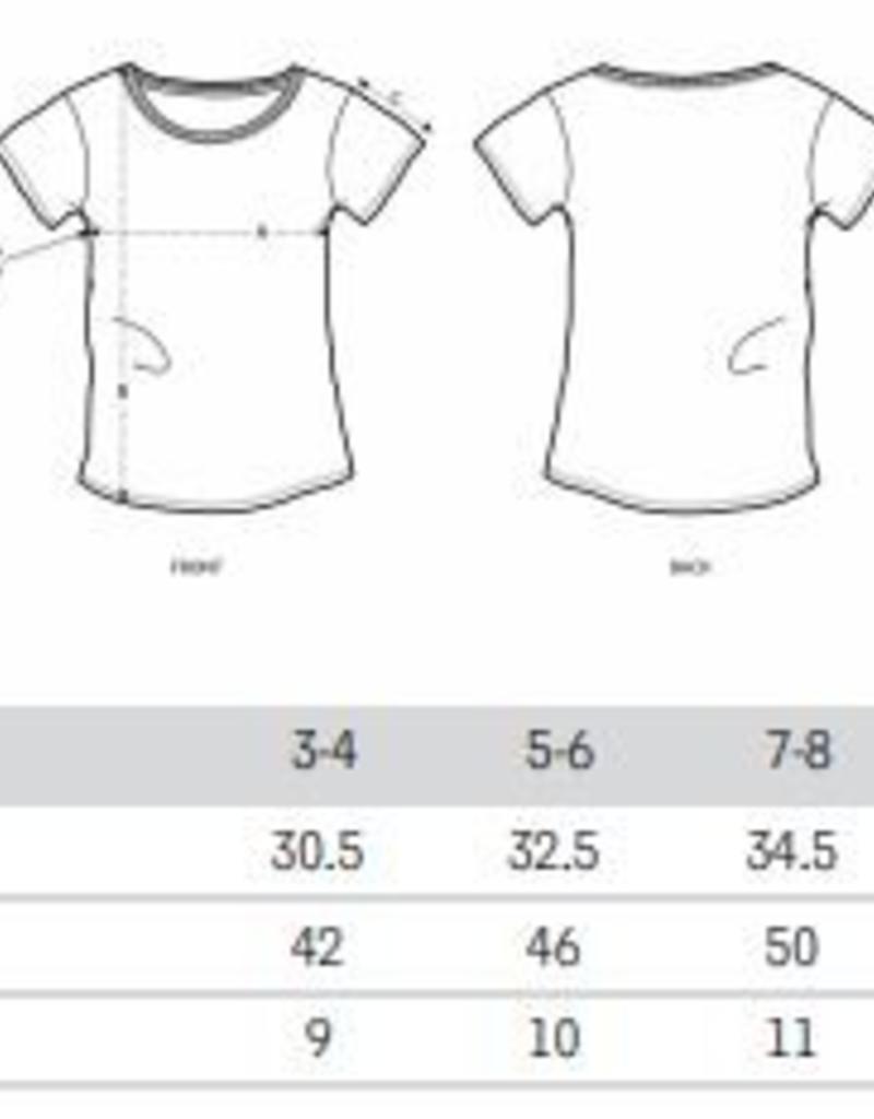 Departement Krijg de Kleren Moet Just Niks T-shirt Kids Zwart/Goud