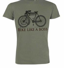 Departement Krijg de Kleren Bike like a boss  KHAKI