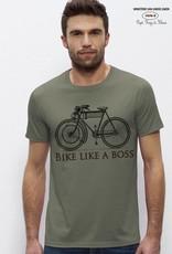 Departement Krijg de Kleren Bike like a boss - KHAKI