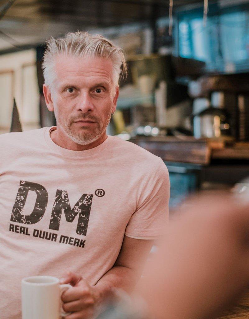 Departement Krijg de Kleren Duur Merk RDM - T-shirt man Heather Pink