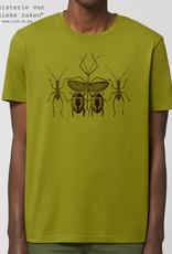 Departement Krijg de Kleren Buggies T-shirt unisex Mosgroen
