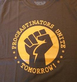 Departement Krijg de Kleren Procrastinators Unite T-shirt man- choco
