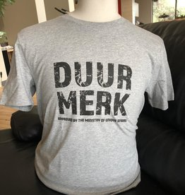 Duur Merk T-shirt Duur merk Grijs  Unisex
