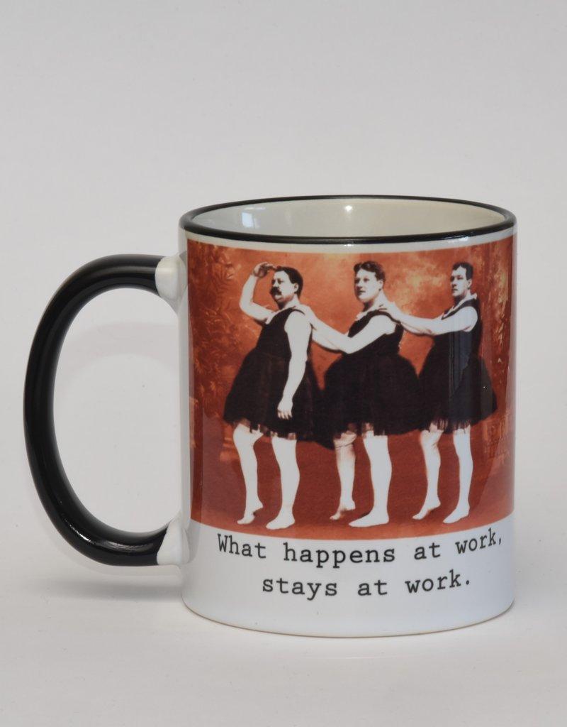 Ministerie van Unieke Zaken Mok what happens at work stays at work
