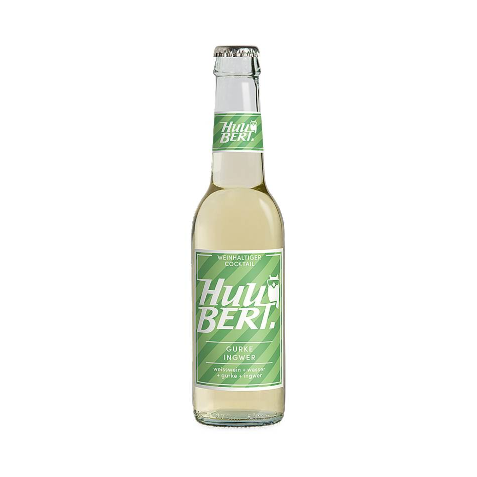 HUUBERT Weincocktail GURKE-INGWER 275 ML