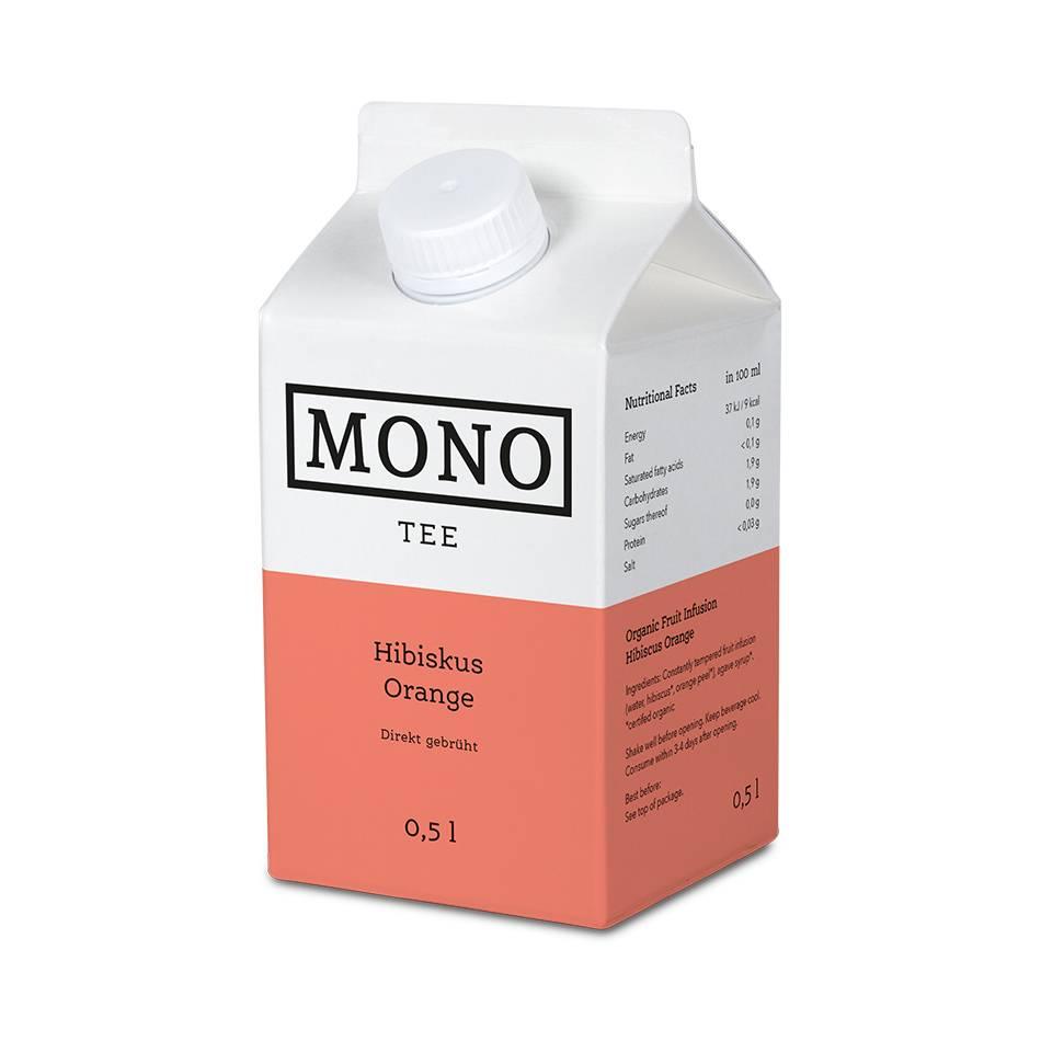 Monotee Hibiskus Orange 500 ML