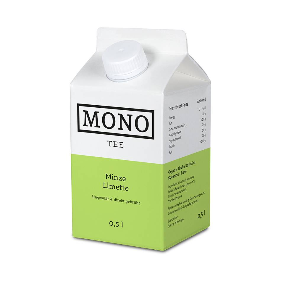 Monotee Minze Limette 500 ML