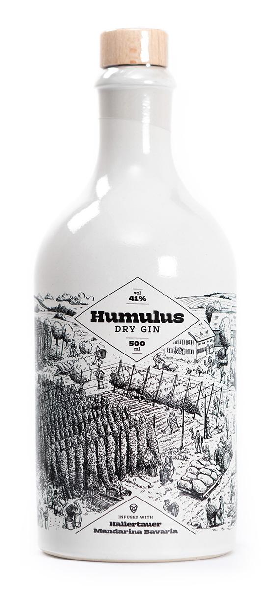 HUMULUS Dry Gin, 0,5l, 41%