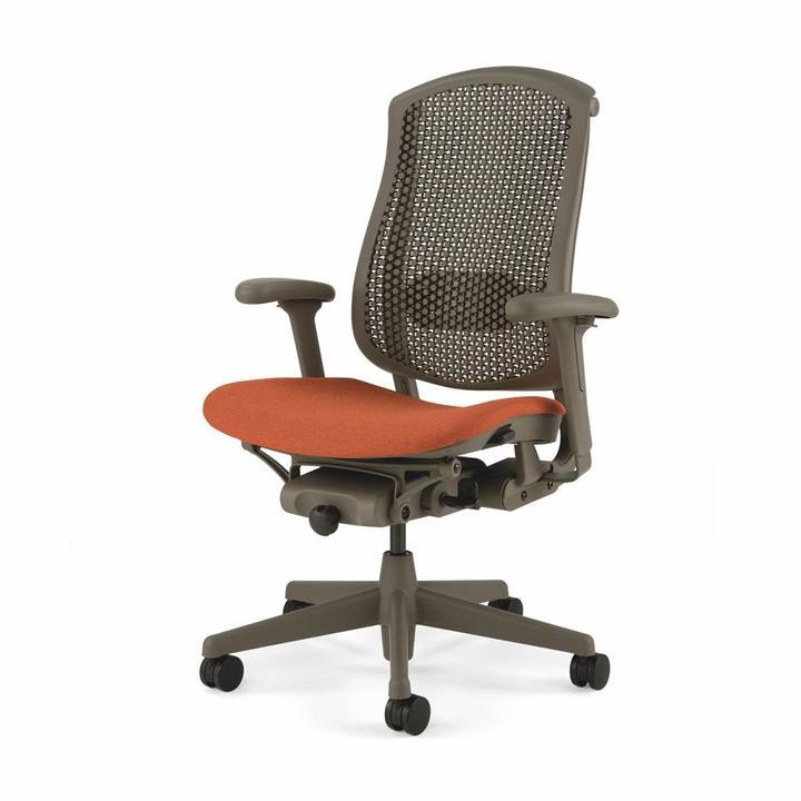 Black Refurbished Herman Celle Chair