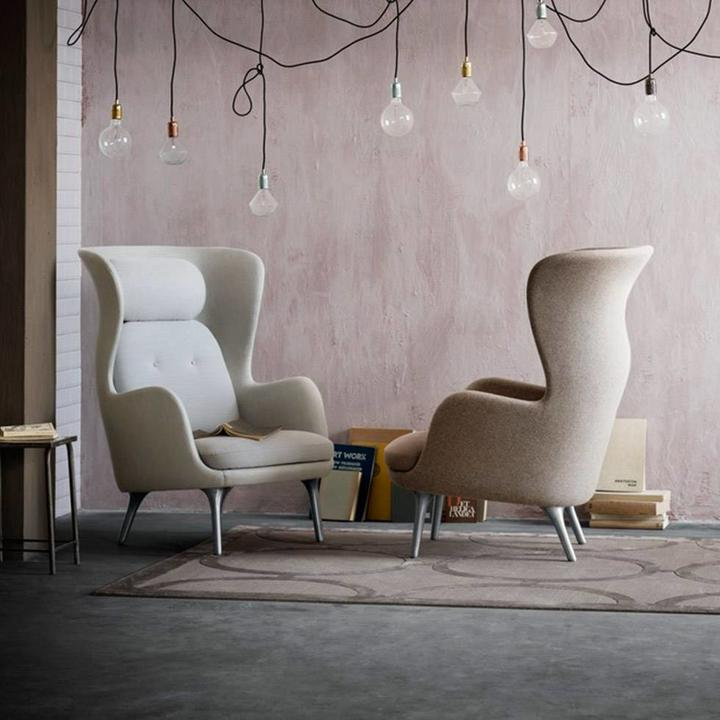 Fritz Hansen Ro | Lounge Chair